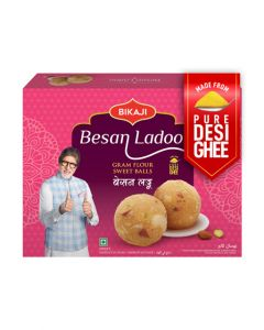 BIkaji - Besan Laddoo - Pure Desi Ghee