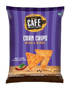Bikaji Cafe Corn Chips Masala Munch