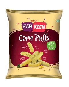 Bikaji Funkeen Corn Puffs Cheese n Herbs