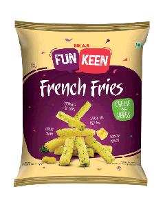 Bikaji Funkeen French Fries Cheese n Herbs