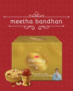 Bikaji Diwali Sweets Pack - Meetha Bandhan Rishtey Combo