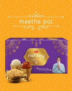 Bikaji Diwali Sweets Pack - Meethe Pal Rishtey Combo