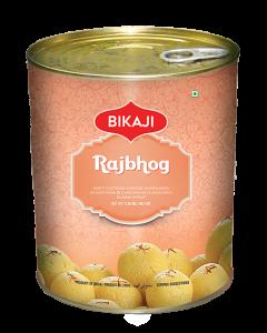 Buy Bikaji Rajbhog - Kesar Rasgulla Online at Best Price