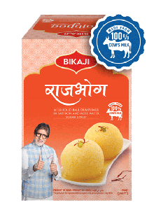 Bikaji Rajbhog - 1.25kg Tin Sweet Available Online