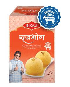 Bikaji Rajbhog - 1.25kg Tin Sweet Available Online