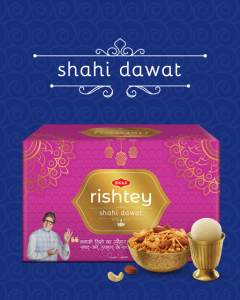 Bikaji Diwali Sweets Pack - Shahi Daawat Rishtey Combo