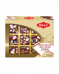 Strawberry Dry Fruit Chikki